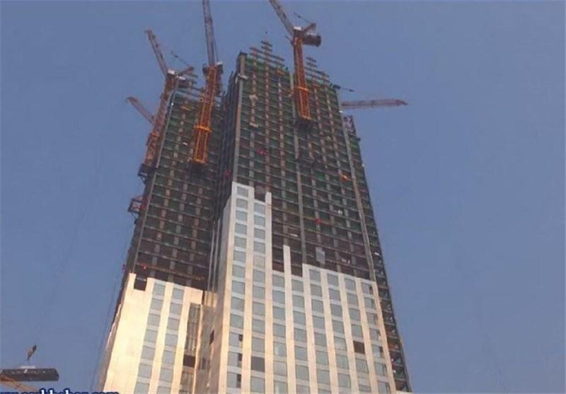 57 طبقه برج 19 روزه ساخته شد