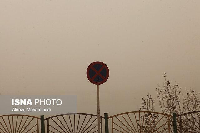 چشمه های گرد و غبار خوزستان هنوز فعال اند