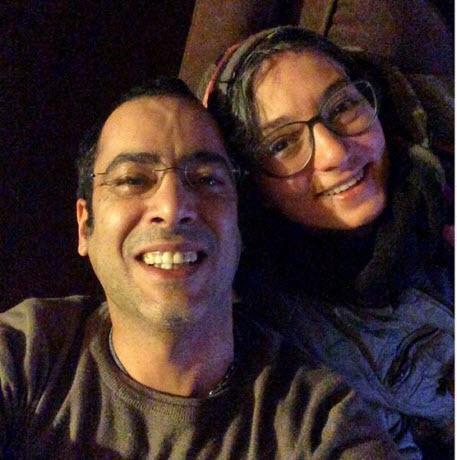 سلفی سحر ولدبیگی با همسرش