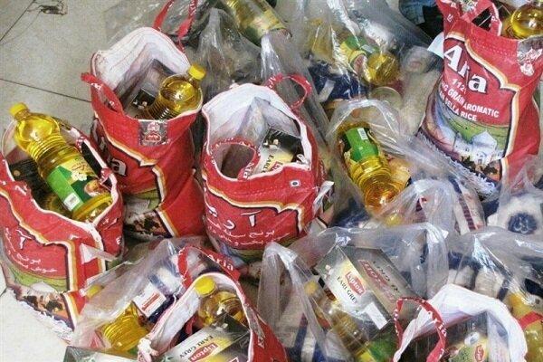 اهدای 1200 بسته معیشتی و بهداشتی در صومعه سرا