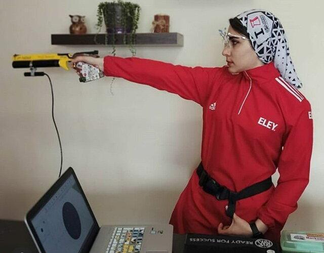 تمرینات خانگی تیراندازان بررسی می گردد