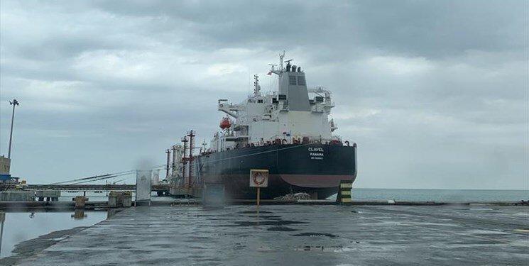 نفتکش ایران ماموریتش را تمام کرد