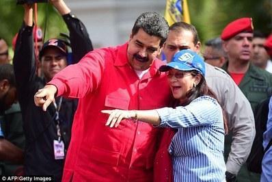 کوشش آمریکا برای طرح اتهام علیه بانوی اول ونزوئلا