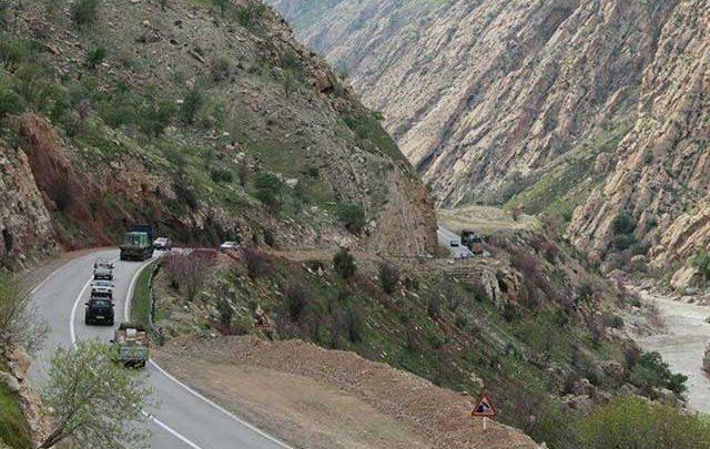 استمرار خطر در جاده خرم آباد-پلدختر