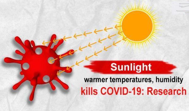 نور خورشید در تابستان ویروس کرونا را غیرفعال می نماید؟