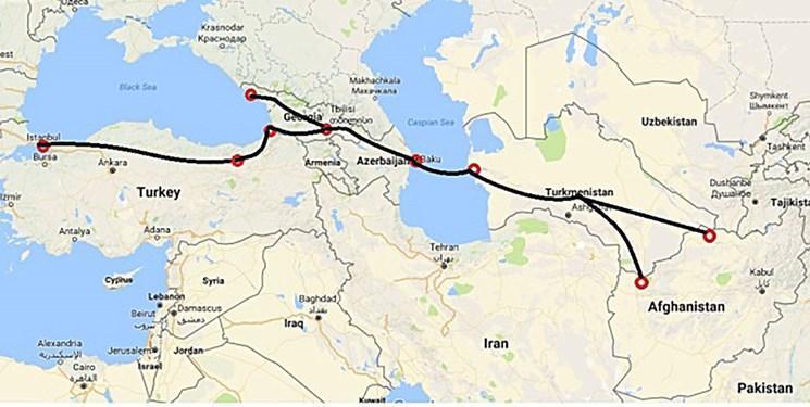 همکاری ترانزیتی محور رایزنی رؤسای جمهور ترکمنستان، آذربایجان و افغانستان