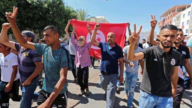 ادامه اعتراضات درجنوب شرق تونس