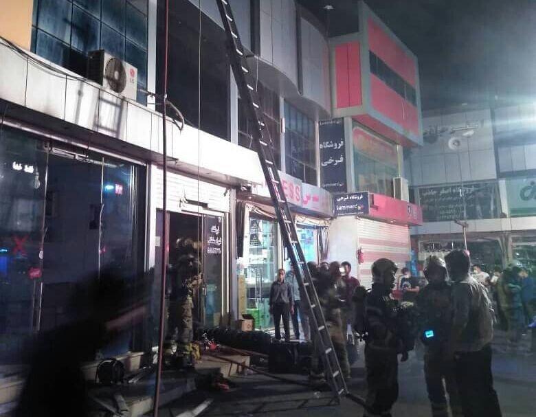 شهادت آتش نشان حین عملیات اطفای حریق در جنوب تهران