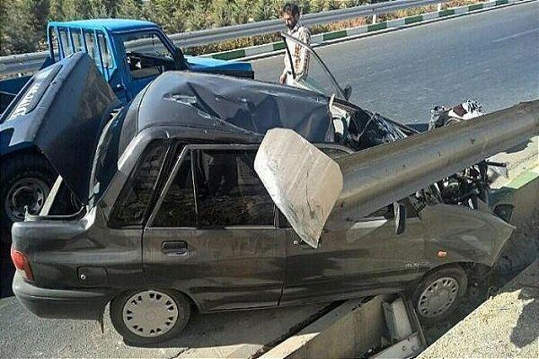 حوادث فوتی جاده ای 11 درصد کاهش یافت