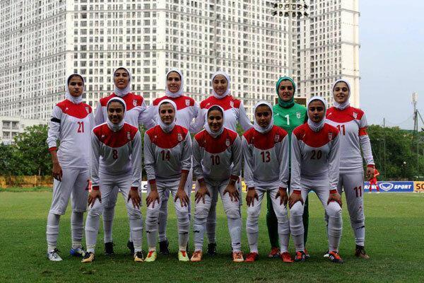 تیم ملی فوتبال زنان ایران در صندلی هفتادم دنیا