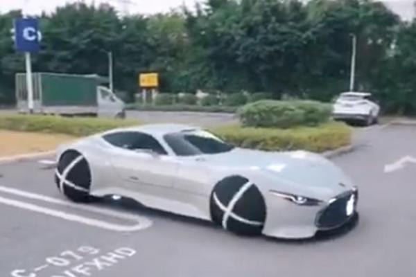 طرح اولیه خودرو اپل با چرخ های کروی