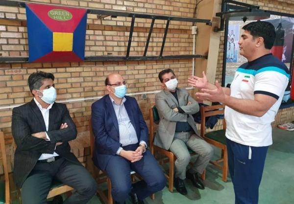 بازدید علی نژاد از اردوی تیم بوکس جوانان ایران